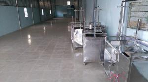 Xưởng đóng xe bánh mì chả cá